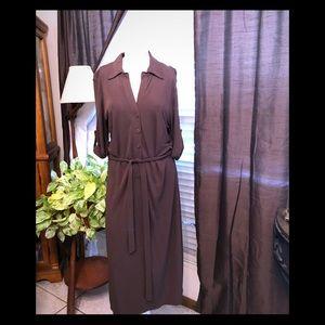 Anne Taylor brown  dress sz 10